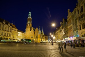 Old Market Square in Wroclaw
