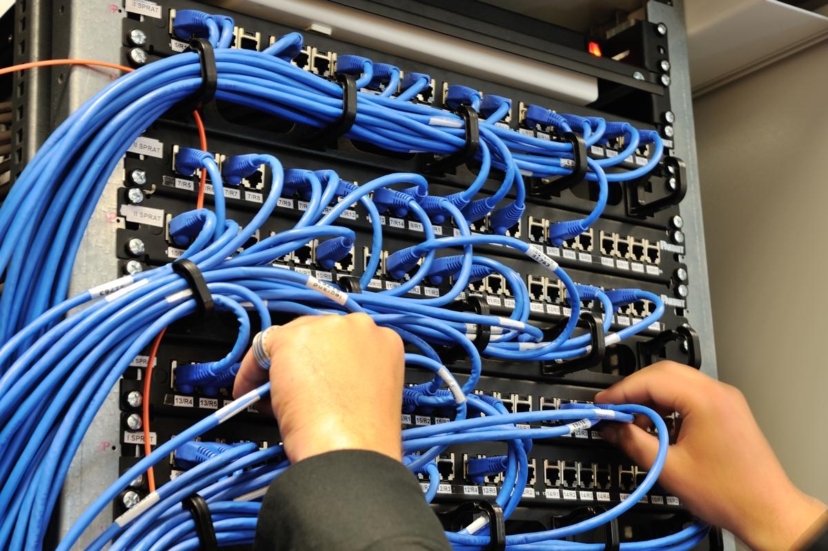 Как сделать монтаж интернета